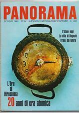 PANORAMA 34 / 1965 scienza bomba atomica cantore islam rinascimento colt strauss