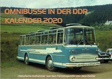MCZ 44-021 Kalender Omnibusse in der DDR 2020