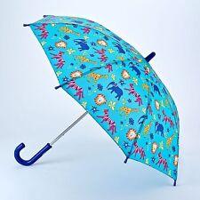 Fulton Children's Manual Walking Umbrella - Jungle Chums