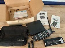 Vintage Nokia C15 Bag Cell Phone Case Original Paperwork Instructions Battery