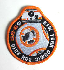 "Star Wars 3.5"" BB-8 New York Comic Com 2015 Promo Patch- FREE S&H (SWPA-KL-13)"