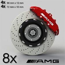 8x AMG Aufkleber für Bremssättel und Alufelgen AMG Emblem Logo