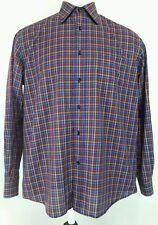 Paul & Shark Yachting Button Front Shirt Multi Color Plaid LS Men's Large