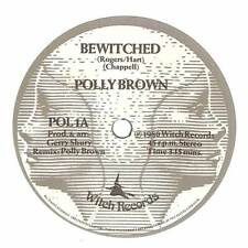 """Polly Brown - Bewitched - 7"""" Record Single"""
