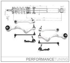 Kit -8 pcs- Bras de Suspension Avant, Gauche + Droite -  BMW Série 1 E81 E82 E88
