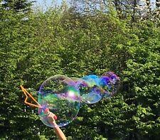 XXL-Riesen-Seifenblasenschwert Seifenblasen mit 250ml Seifenblasen-Fluid 54cm