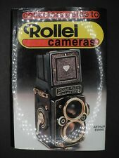 The Collectors Guide To Rollei Cameras By Arthur Evans 1986 Hove Foto Books
