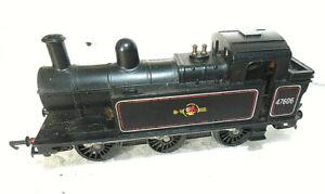 TRIANG HORNBY OO GAUGE R52 47606 BR JINTY 3F 0-6-0T BLACK LOCOMOTIVE (9)