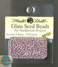 Mill Hill Glass Seed Beads 4.54g Ash Mauve #00151