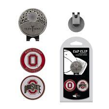 NCAA Ohio State Buckeyes Golf Cap Clip and 2 Ball Markers Enamel Team Logo Hat