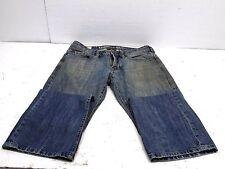Buffalo David Bitton Kenneth Slim Boot Cut Mens Jeans Size 29W 30L Distresed