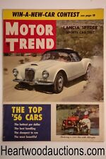 Motor Trend Aug 1956 - High Grade