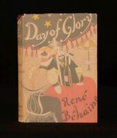 1949 Day of Glory Rene Behaine First UK Edition Novel in Dustwrapper