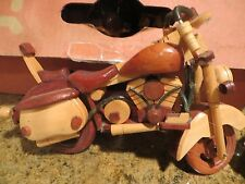 model wooden miniature motorcycle / Harley Davidson