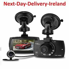 "2.7"" HD 1080P Dual lens LCD Car DVR Night Vision Rear View Dash Camera Recorder"