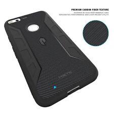 Karbon Shield Series Slim Fit TPU Bumper Case for Google Pixel Black N