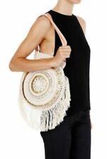 "SASS & BIDE ""life kisses"" crochet beach hippy shoulder bag"