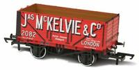 Oxford Rail 76MW7026 OO Gauge 7 Plank Wagon Jas McKelvie London No 2082