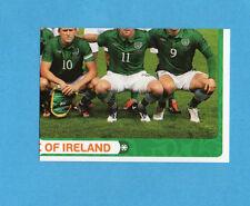 PANINI-EURO 2012-Figurina n.344- SQUADRA/TEAM 4/4 - IRLANDA -NEW
