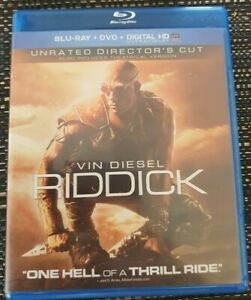 Riddick Unrated Director's Cut Blu-ray Region A