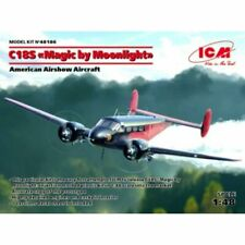 """ICM 48186 1:48th scale Beech C18S """"Magic by Moonlight"""" American Airshow Aircraft"""