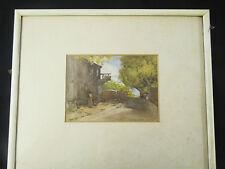 British School Fine Art- A C Morgan Smith; Signed water colour