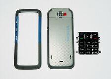 Grey Cover Housing Fascia facia faceplate Case skin for Nokia 5310 gray   -00000