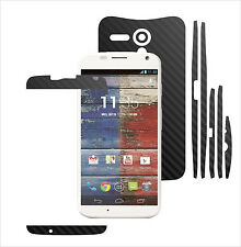 3D Carbon Skin,Full Body Protector for Case,Vinyl Wrap For Motorola Moto X 2013