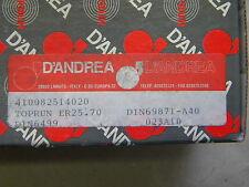 D' Andrea egli-PINZE mangimi toprun SK 40 DIN 69871 a40 er25.70