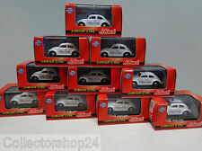 Schuco : VW Beetle Dutch Police Amsterdam 1:72 ( 10 pieces )