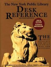 The New York Public Library Desk Reference by New York Public Library Staff...