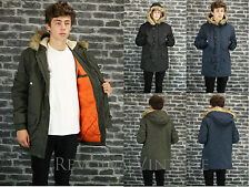 Unbranded Hooded Parkas for Men
