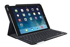 Teclado Inalámbrico Protectora Logitech Tipo + Folio Estuche Cubierta Negro-iPad Air