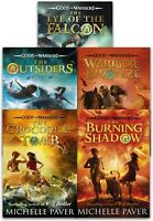 Gods and Warriors Collection 5 Books Set by Michelle Paver Outsiders, Falcon