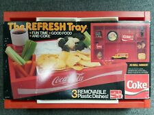 Vintage Coca Cola The Refresh Tray Coke With Original Packaging Wall Hanger