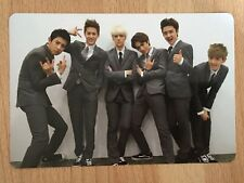 KPOP EXO-K Official Growl Group Photocard