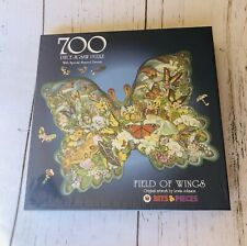 "Bits & Pieces ""Field Of Wings"" Special Shaped Butterfly 700pc New Sealed"