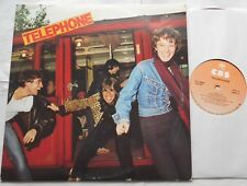 TELEPHONE ST NM- CANADA ORIGINAL 1977 CBS ‎ PFC-90489 FRENCH ROCK LP