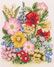 Anchor - Counted Cross Stitch Kit - Meadow Flowers - PCE961