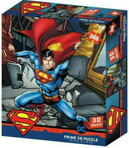 Superman Strength Jigsaw 3D Puzzle DC Comics 24 Inch by 18 Inch 300 Piece