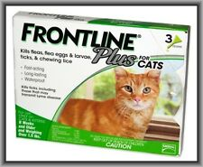 Merial Frontline Plus Flea & Tick Control for Cats, Over 1,5 lbs, 3 Month Supply