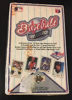 UPPER DECK 1991 EDITION  BASEBALL (CARD BOX OF 36 PACKS)