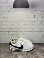 Nike Unisex Kids White Cortez Basic SL 904769 102 Toddler Shoes Size 10C