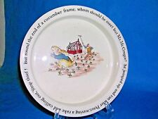 WEDGWOOD china PETER RABBIT  Beatrix Potter pattern Porriger @ 6-1/2""