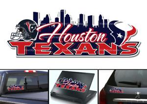 Houston Texans Skyline Bumper Sticker Window Vinyl Decal