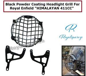 ROYAL ENFIELD HIMALAYAN 411CC BLACK POWDER COATING HEADLIGHT GRILL
