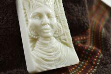 AFRIKANISCHE SCHÖNHEIT Seife Silikonform  mold silicone mould  GIPS fimo DAME