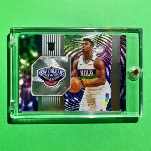 Zion Williamson ROOKIE PANINI ILLUSIONS INSTANT IMPACT CHROME EMBOSSED RC - Mint