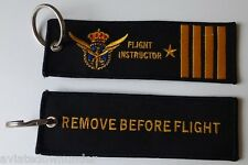 Flight Instructor / Remove Before Flight Keychain