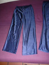 Satin Silky Pyjama pants Nightwear Suit Pyjamas Ladies Women Sexy  medium